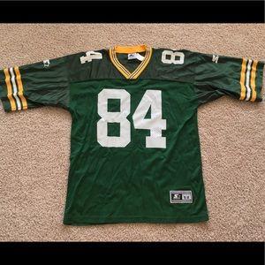 NFL Shirts - Vintage Green Bay Packers Bill Schroeder jersey